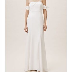 BHLDN Watters Delilah Dress (NWT) in Ivory
